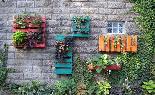 Pallet Garden 4