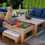 Perfect Outdoor Activity Table for Kids and Adults