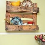 Styish, Easy, and Perfect Pallet Shelf
