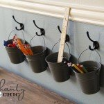Get Organized With Mini Buckets