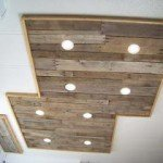 Beautifully Crafted Pallet Ceiling Light