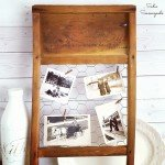 Country Cottage Charm Washboard Photo Frame