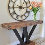 Powerfully Built Console Table