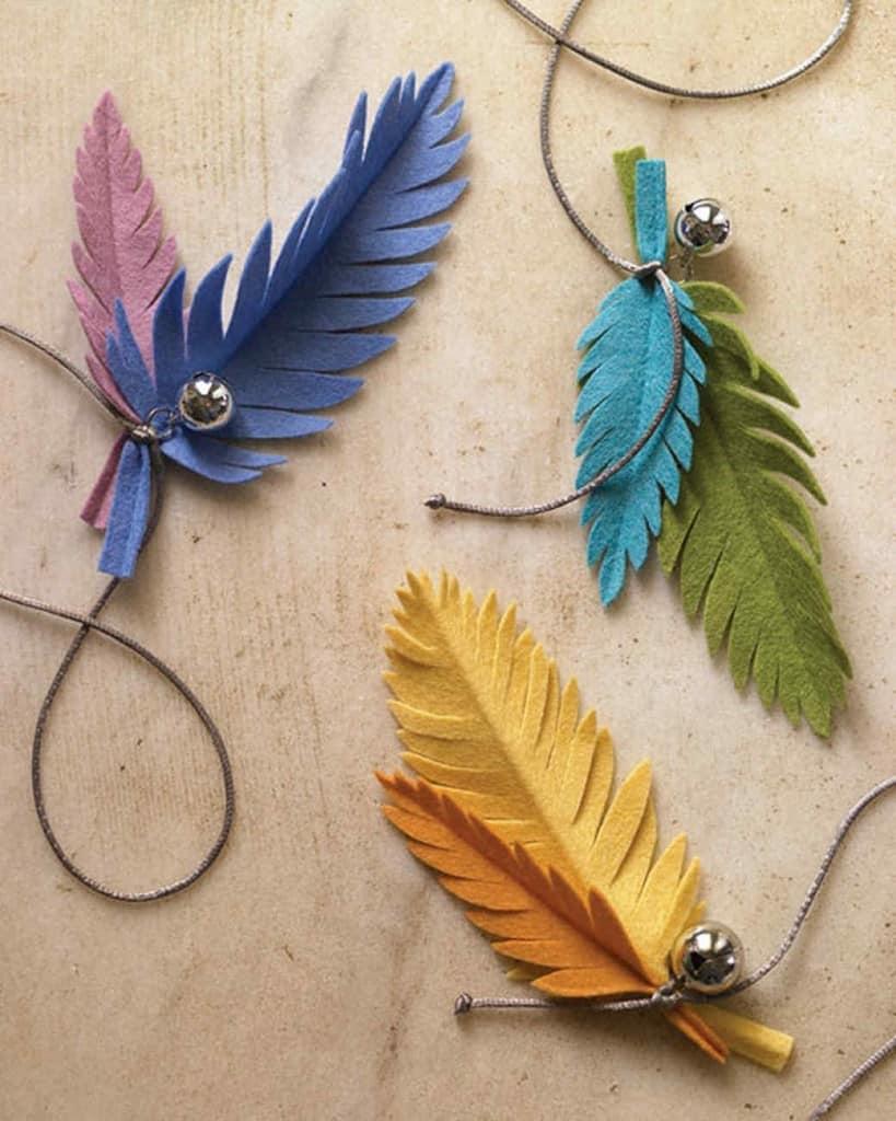 Птичьи перья своими руками 654