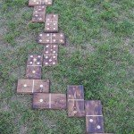 Have Fun with Backyard Dominoes