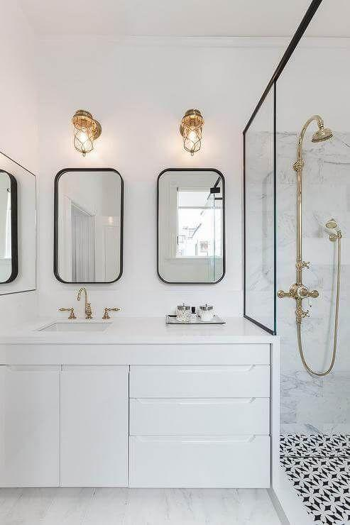 Lovely The elegant mirror will look great in your modern bathroom An inexpensive project with lots of class and style
