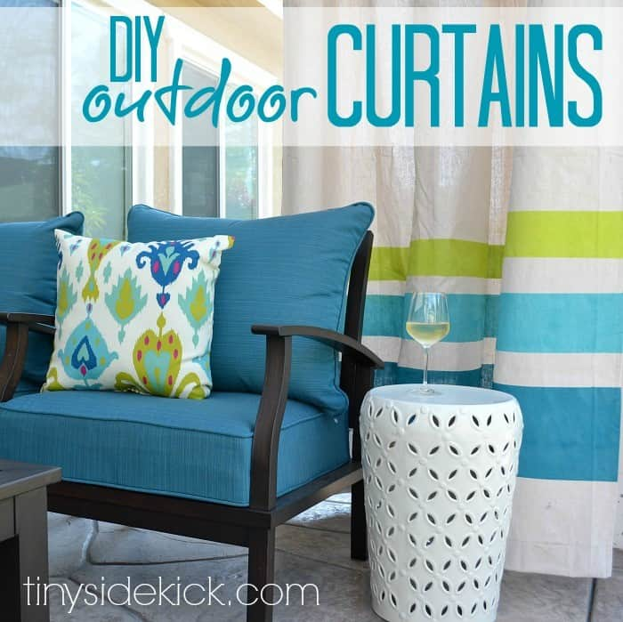 At Once Decorative And Practical Outdoor Curtains