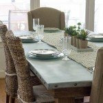 Relaxed Sophistication Zinc Table Top
