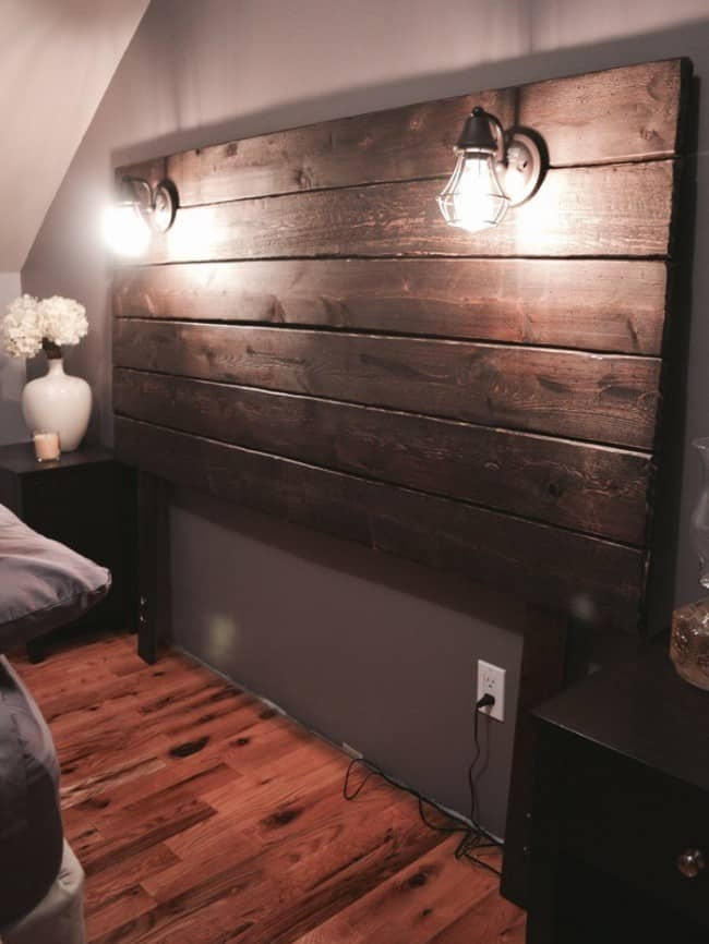 Beautifully Crafted Rustic Headboard Knockoffdecor Com