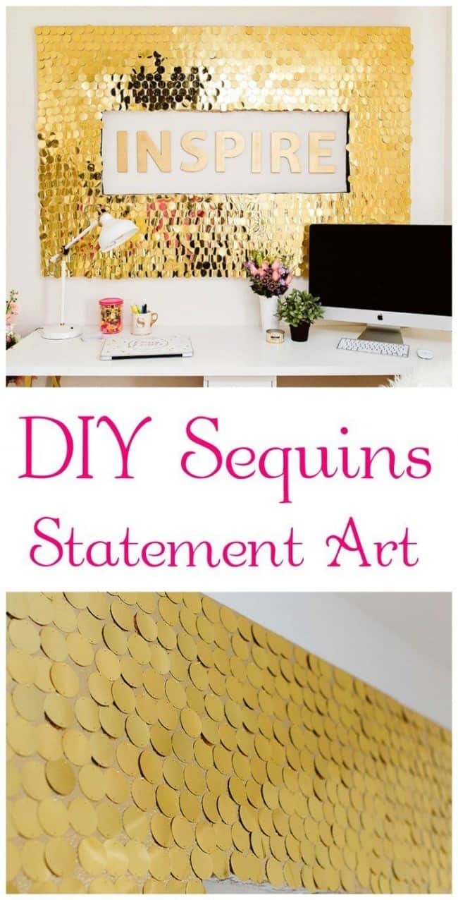 Individually Designed Sequin Wall Art
