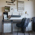 Sturdy, Rustic, Barn Door Desk
