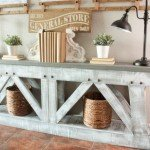 Well Constructed Farmhouse Console Table
