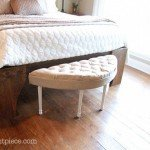 Charming Tufted Bench