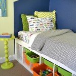 Functional and Fun Twin Bed