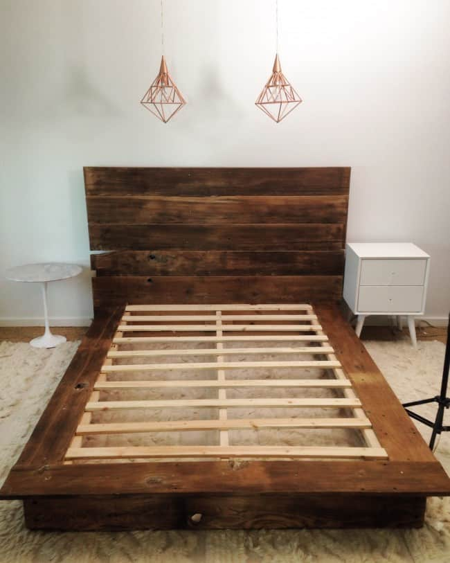 Luxury If you need to purchase wood for this project that is okay too The design is well constructed and you will have a wonderful sturdy bed for your room