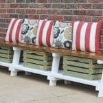 Popular Outdoor Storage Bench