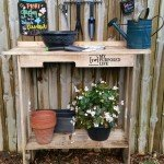 Long Lasting Potting Bench