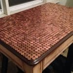 Unusual Penny Table Top