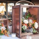 Wedding Decor Rustic Lantern