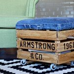 Easy Assembly Upholstered Crate
