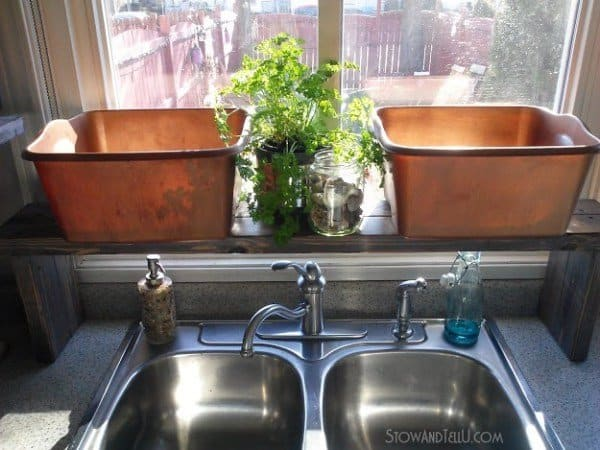 Practical Over The Sink Shelf Knockoffdecor Com