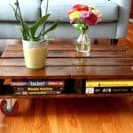 Space Saving Pallet Coffee Table