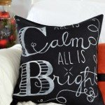 Make Your Own Chalkboard Art Pillow