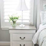 Textured Chalk Paint Nightstand