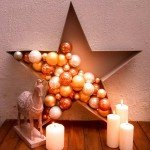 Holiday Star Ornament Display