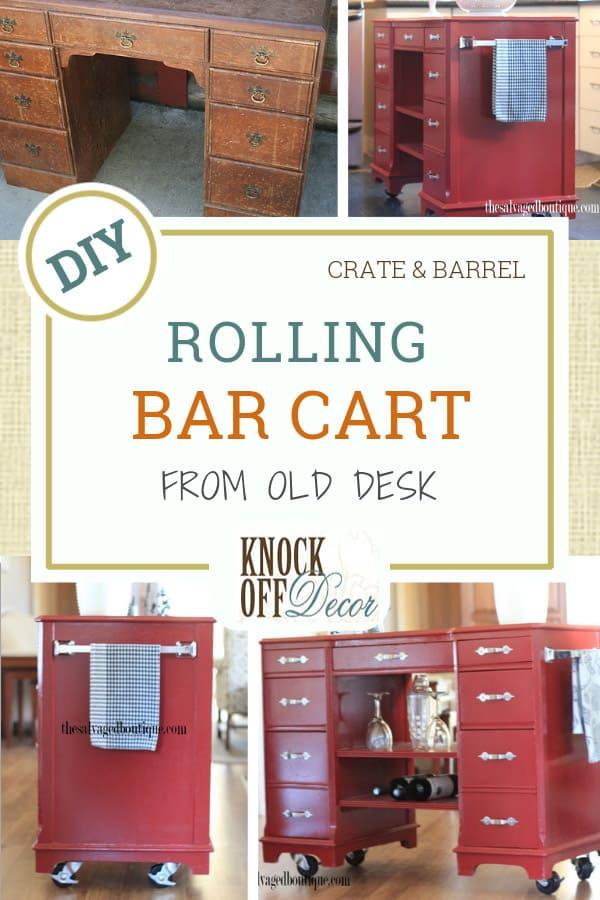 DIY rolling bar