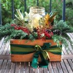 Pallet Wood Christmas Centerpiece