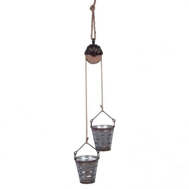 Hanging Olive Basket