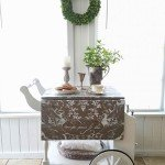 Tea Cart Modern Makeover