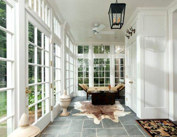 Simple sunroom