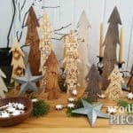 Festive Tree Craft Decor