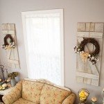 Wooden Shutter Wall Decor