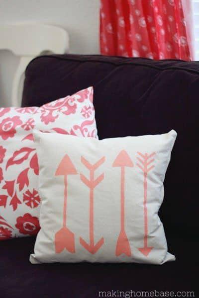 Drop-Cloth-Arrow-Pillow