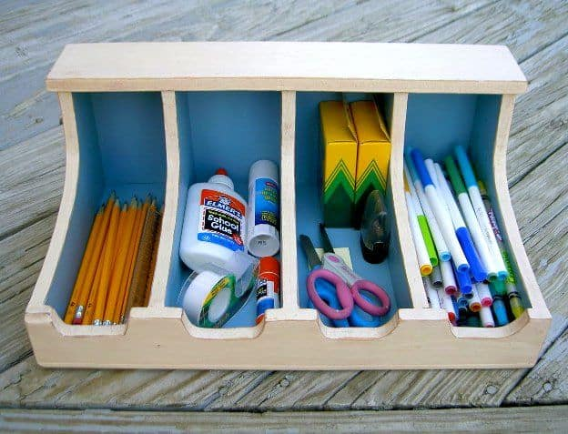 Kids Craft Supply Box