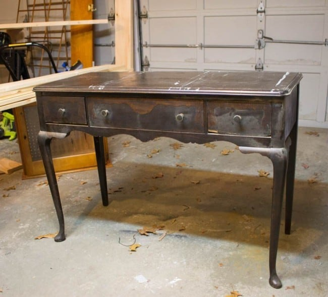 Sleek Modern Desk Makeover