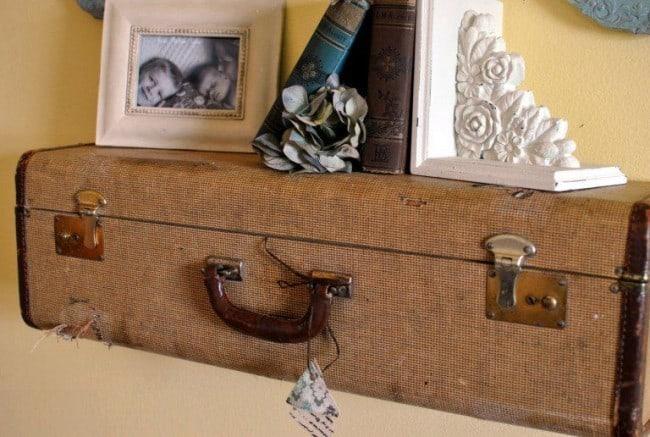 Suitecase-shelf