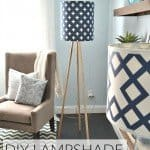 Modern Decor Fabric Lamp Shade