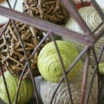 Rustic Jar Filler Balls