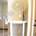 PVC Mirror Design Accent
