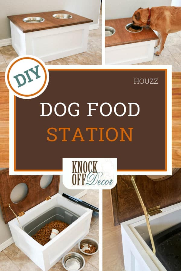 Diy Pet Feeder Station With Storage Knockoffdecor Com