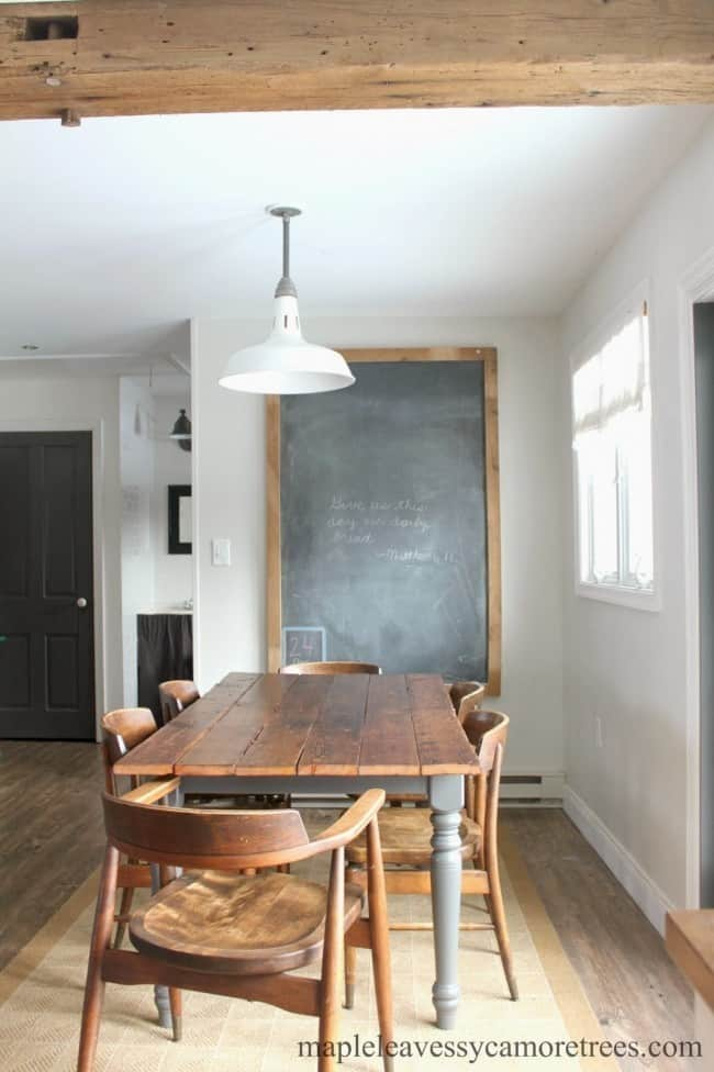 Topping A Table With Barnwood