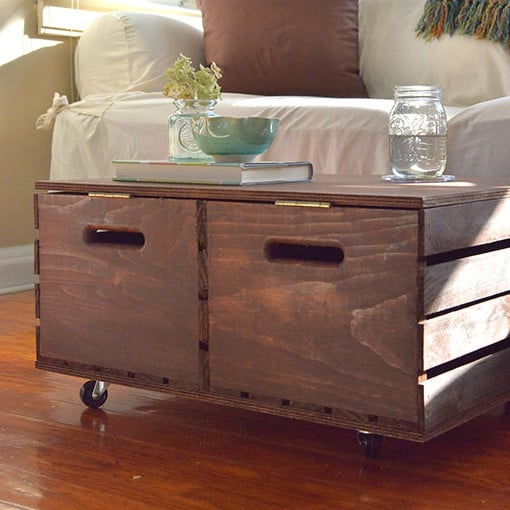 Create An Ottoman With Storage Knockoffdecor Com