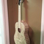 Create Wall Art From A Guitar