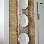 DIY Vintage Plate Display