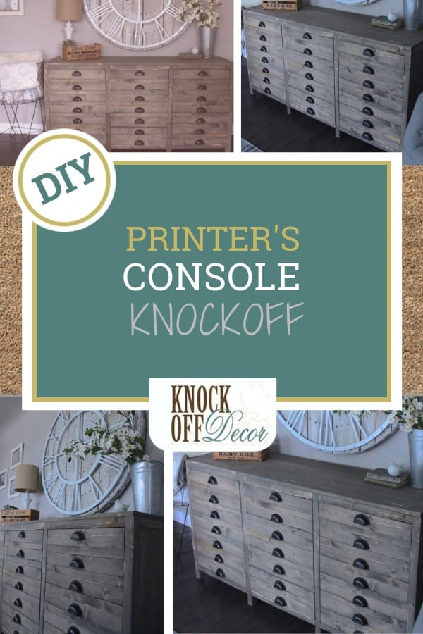 Printer S Style Media Console Knockoffdecor Com