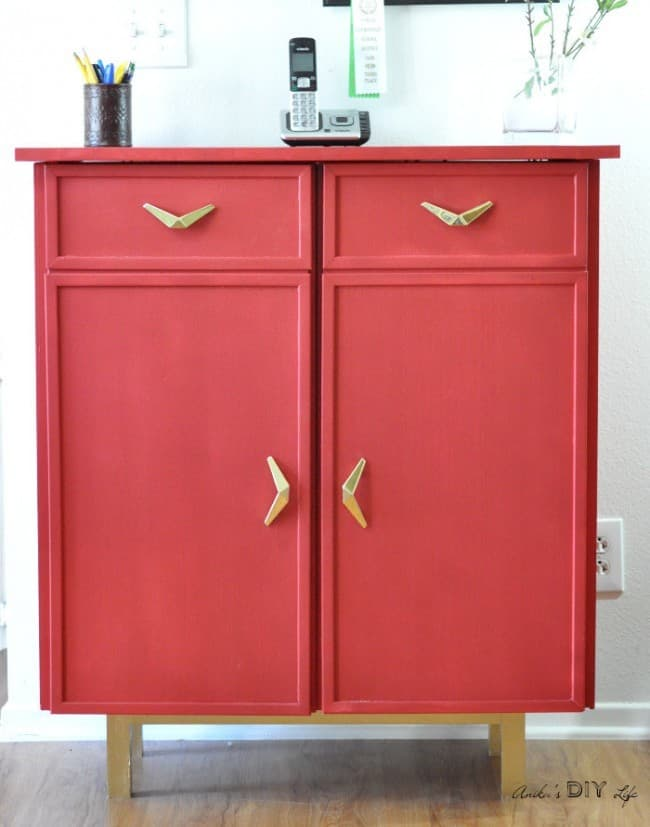 Turn A Cabinet Into A Sideboard